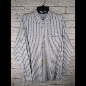 Zegna Sport L/S Button Front Dress Shirt Size (L)
